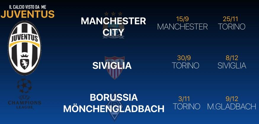 Calendario Champions Juventus.Scarica I Calendari Champions Di Juve E Roma