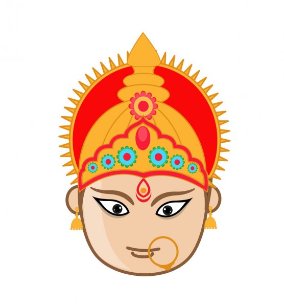 Happy Navaratri Wallpapers in 1080p & Navadurga GIFs for WhatsApp