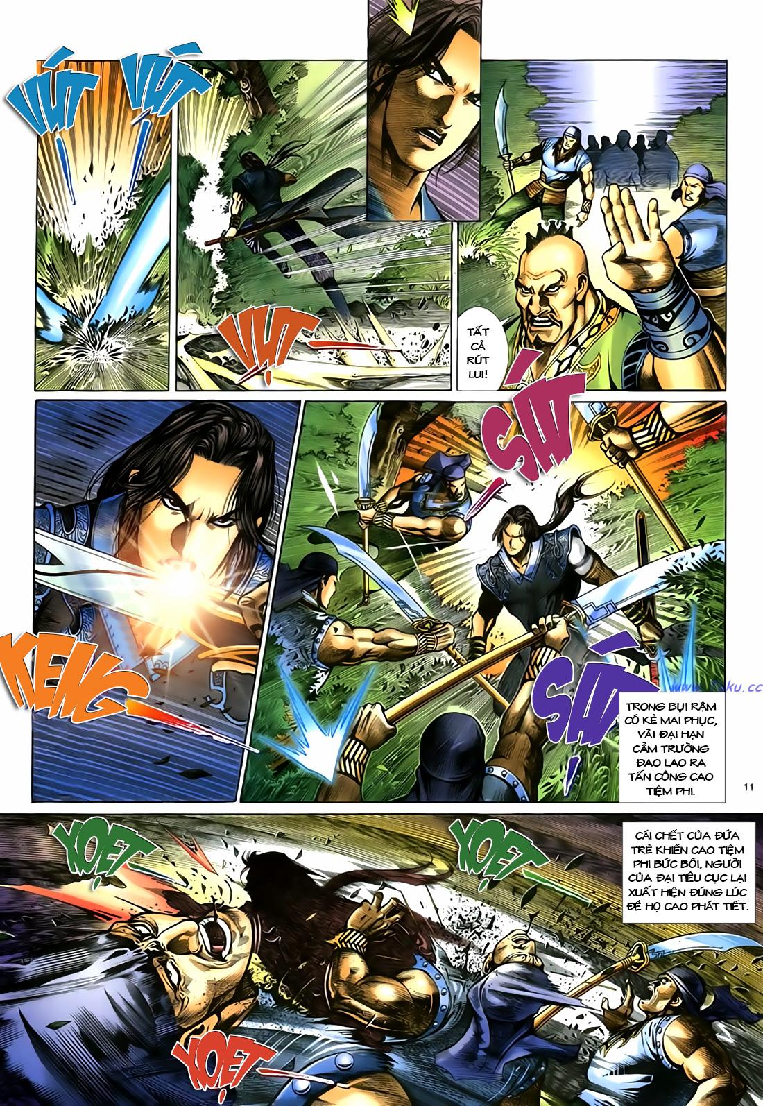 Anh hùng vô lệ Chap 18 trang 12