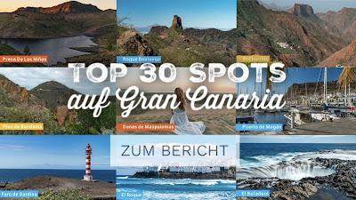 Die Top 30 Spots auf Gran Canaria