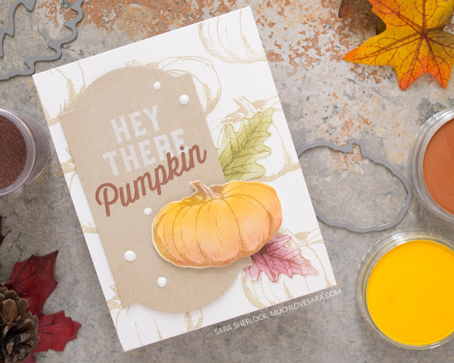Hop along with the Crafty Friends, as we feature Concord & 9th this month!  This simple and pretty, fall card was created using the Autumn Harvest bundle, along with the Friendship Farms bundle from Concord & 9th.  Video tutorial showing how to color the images with PanPastels - quick and easy!  All supplies are listed in the blog post.