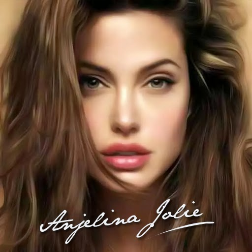 Angelina Jolie 3D live Wallpaper For Android Mobile Phone