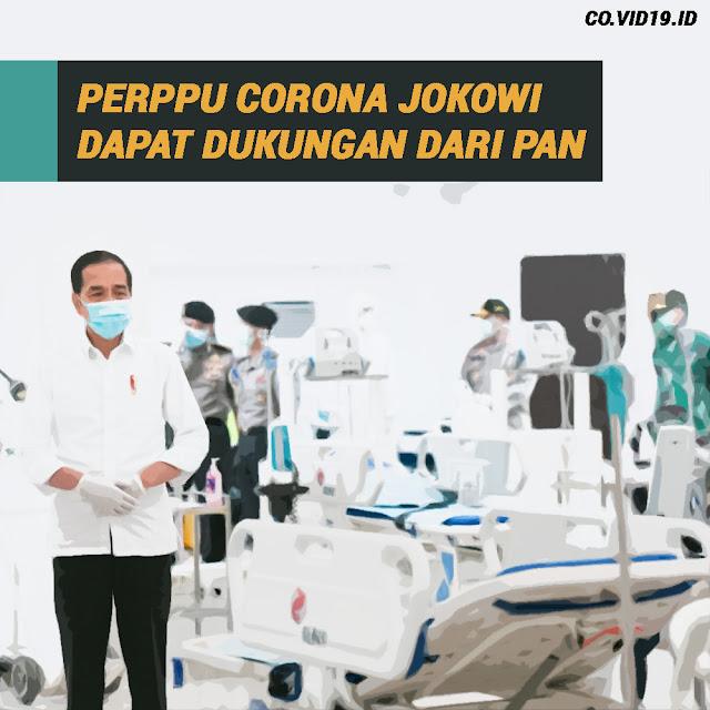 Perppu Corona Dapat Dukungan Dari PAN