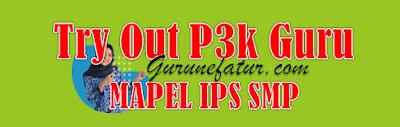 Terbaru! Link Latihan Soal Tryout PPPK Guru Mapel IPS SMP Tahun 2021