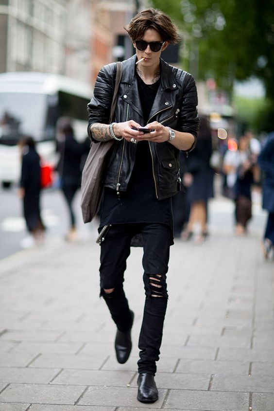 MFW Street Style Men's GQ