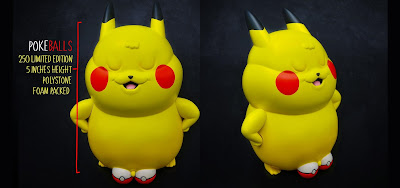 Pokemon Inspired Pokeballs Resin Figure by Alex Solis