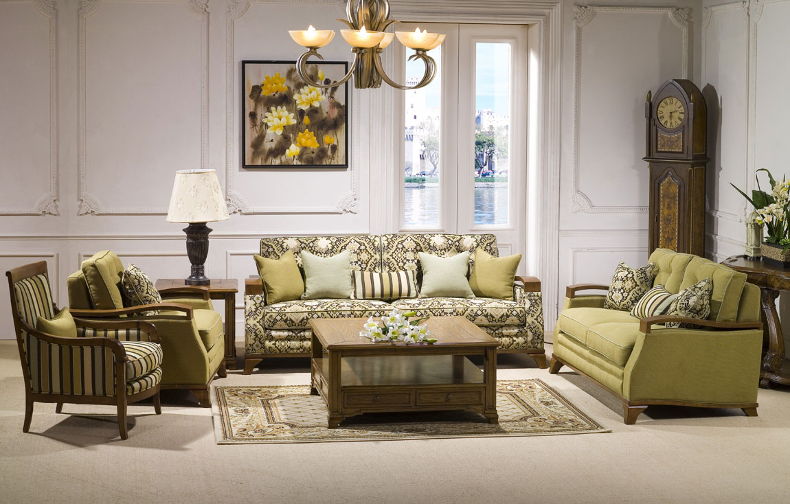 60 Desain Ruang Tamu Klasik