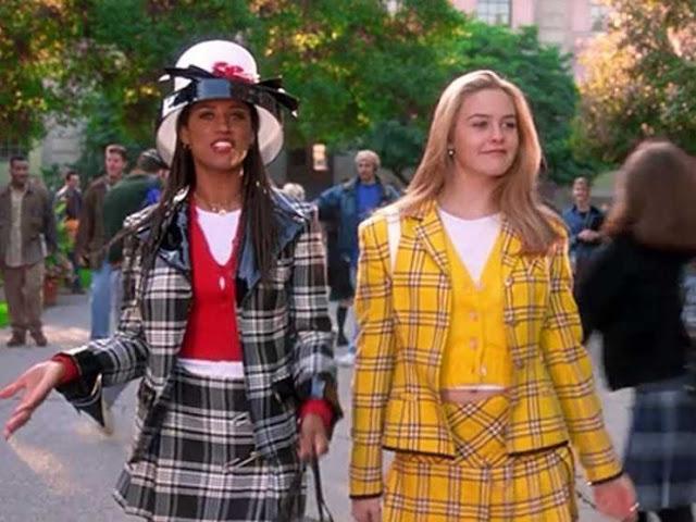 cher horowitz clueless 90s style icon preppy yellow suit