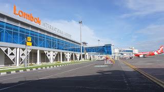 Operasional Penerbangan Penumpang Komersial di Bandara Lombok Ditutup