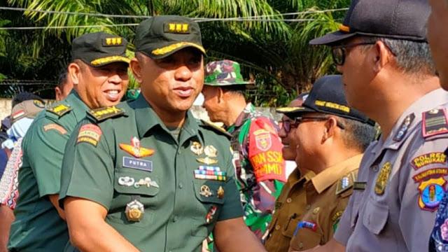 TIM WASEP MABES TNI–AD KUNJUNGI PULAU SEBATIK NUNUKAN