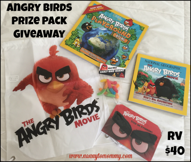 Angry Birds Prize Pack Giveaway