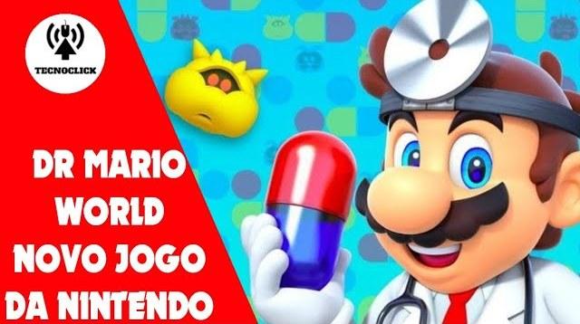 Dr Mário World chega em julho para android e ios