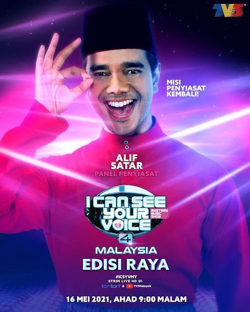 LIVE I Can See Your Voice Malaysia 4 Minggu 1 (16.5.2021)