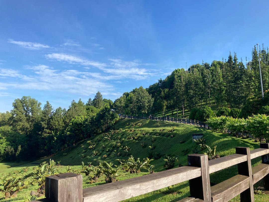 Keindahan Taman Saujana Hijau, Putrajaya