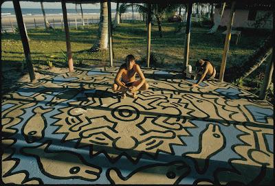 Keith Haring na Bahia, na década de 1980 - Divulgação
