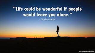 quotes bahasa inggris charlie chaplin dan artinya