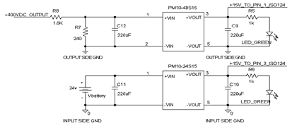 IC Power Supply Schematic using DC/DC Converter