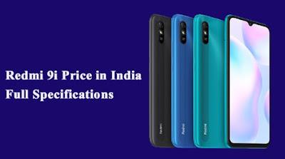 Redmi 9i Price in India ( 64 GB Storage, 4 GB RAM )