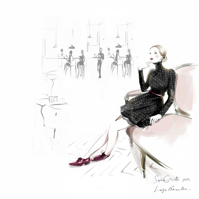 Красивые иллюстрации. Sophie Griotto 9