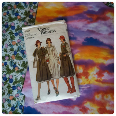 Vogue 9554 vintage sewing pattern