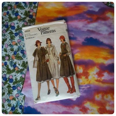 Vogue 9554 vintage sewing pattern
