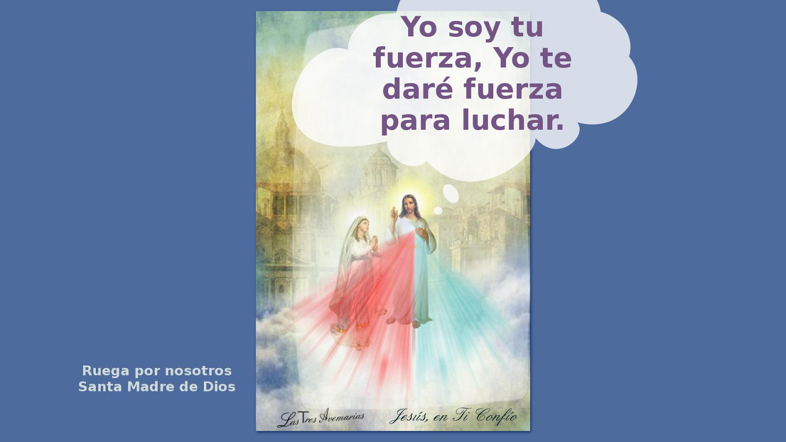 divina misericordia con mensaje para nosotros