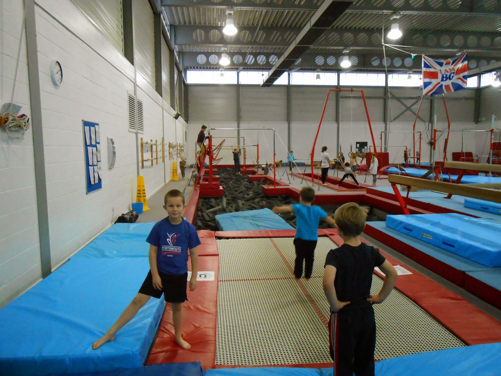 portsmouth gymnastics centre alex way