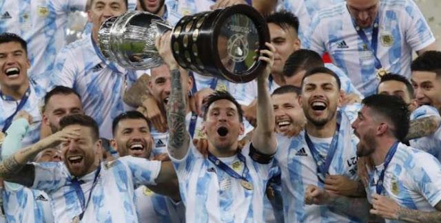 CONMEBOL, Copa America, Brazil, argentina, Lionel Messi, Lionel Messi, neymar, Buenos Aires Celebrate Argentina's Copa América Title, Harbouchanews