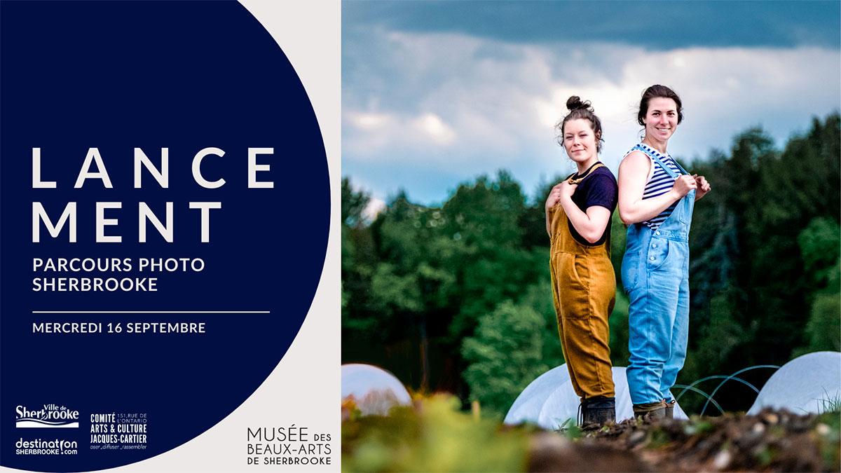 Lancement du Parcours Photo Sherbrooke