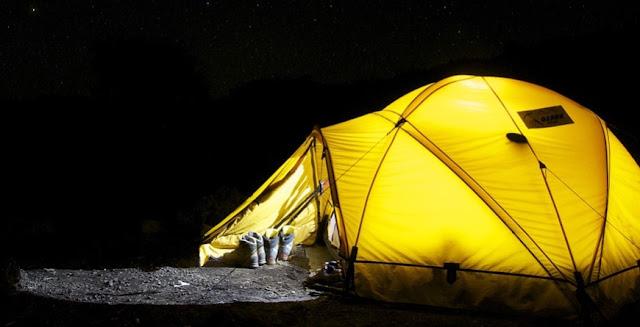 Gambar Tenda Dome Yang Sesuai Untuk Mendaki Gunung