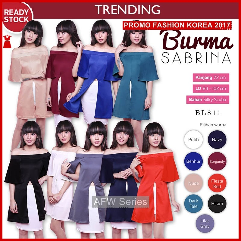 BAMFGW053 Fashion Trending Style Wanita PROMO BMG