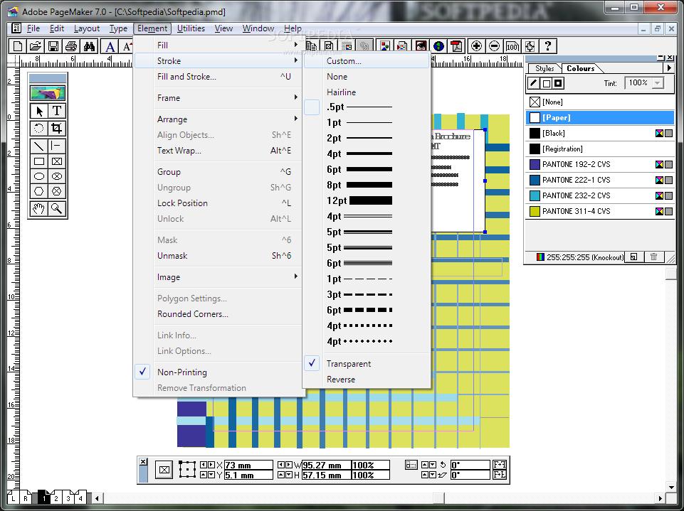 Adobe pagemaker 7.0 installer