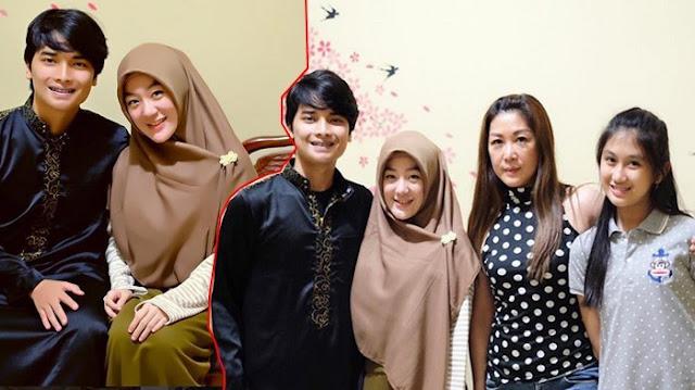Foto Bersama Keluarga Istrinya Yang Non Muslim, Netizen : Adem Ngeliatnya