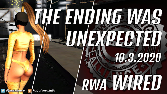 Betty Harrowing vs Victory • RWA WIRED (10.3.2020) [SECOND LIFE WRESTLING]