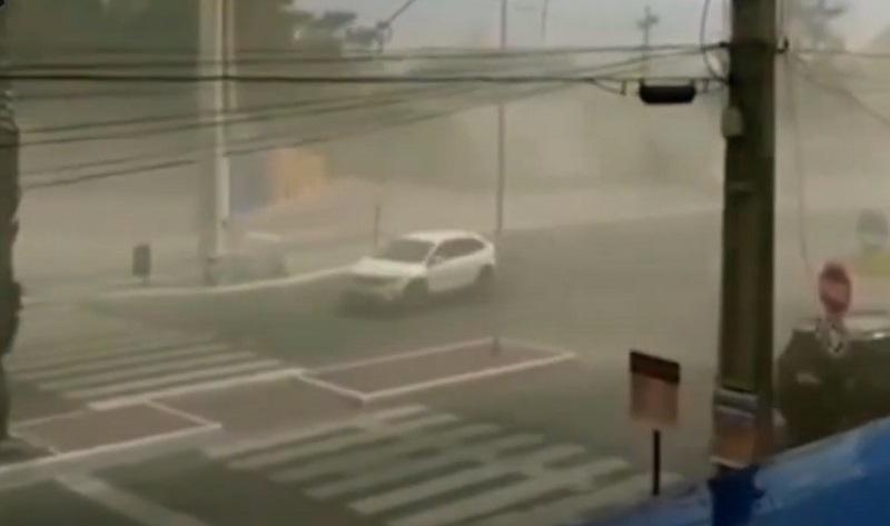 'Tempestade de areia' assusta moradores de Petrolina (PE) e Juazeiro (BA) - Portal Spy Notícias de Juazeiro e Petrolina