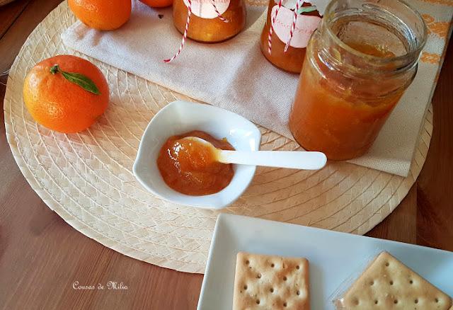 Mermelada de mandarina con tropezones