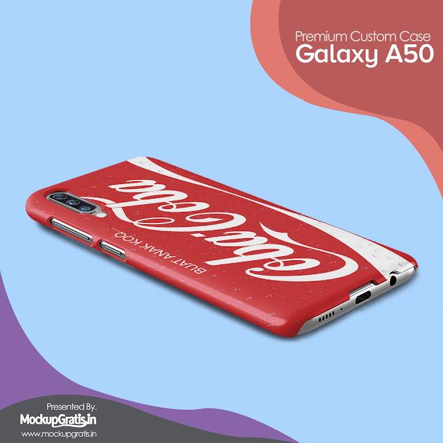 Mockup Custom Case SAMSUNG Galaxy A50