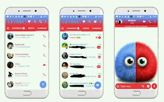 Cute 29 Theme For YOWhatsApp & Fouad WhatsApp By Leidiane