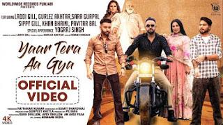 Yaar Tera Aa Gaya Lyrics Laddi Gill X Gurlez Akhtar
