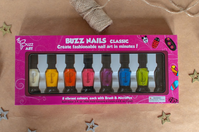 Buzz nails from Buzz Art lots of colours in the box