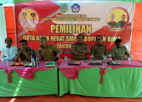 Dikbudpora Kabupaten Bima Gelar Pemilihan Duta Guru Hebat tingkat SMP