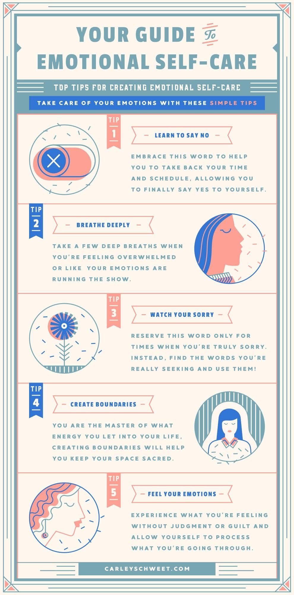Best Way to Take Care of Yourself Emotionally #infographic