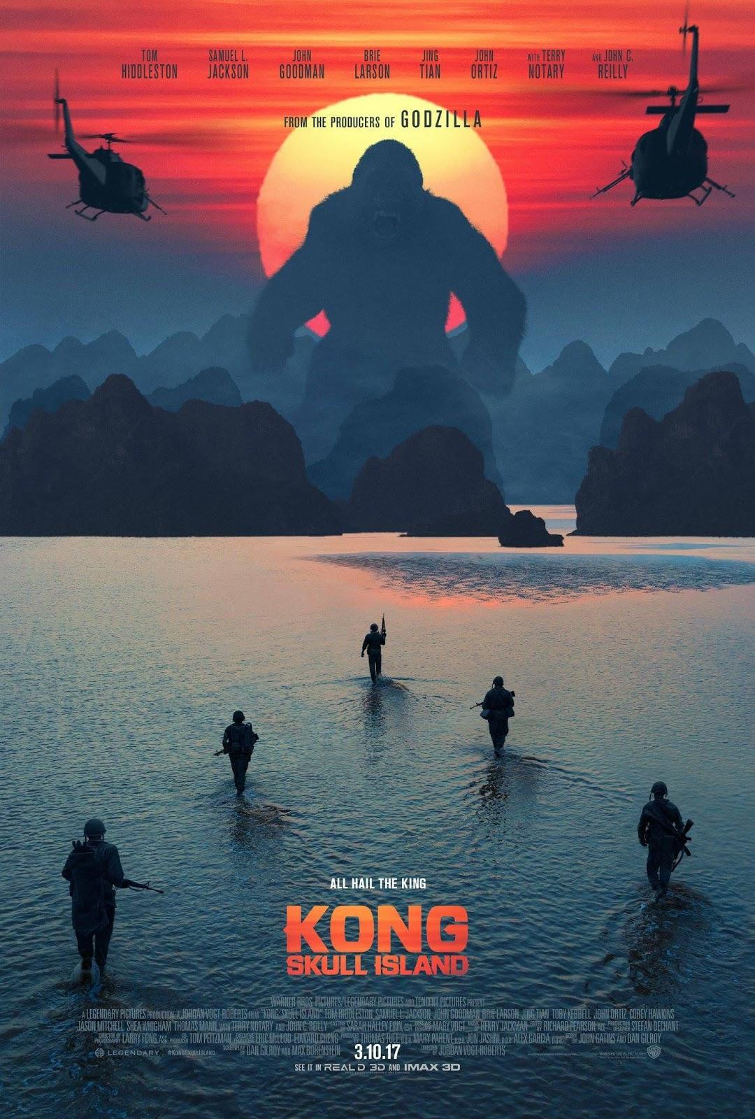 Kong : Skull Island - Movie Review