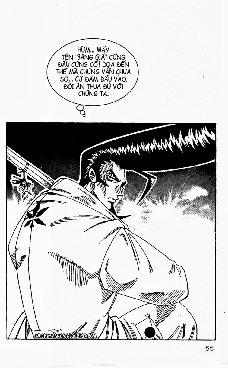 Shaman King [Vua pháp thuật] chap 132 trang 5