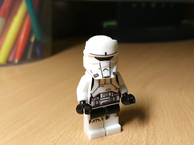 Пилот имперского штурмового танка лего