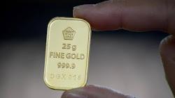 Hari Ini Harga Emas Antam Turun Jadi Rp951 Ribu