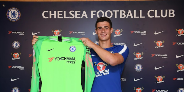 Official: Goalkeeper Kepa Arrizabalaga sgins for Chelsea