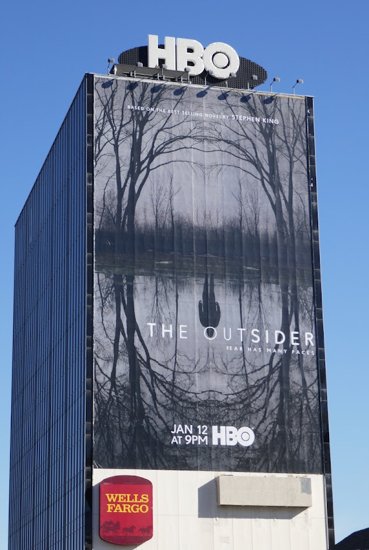 The Outsider series premiere billboard