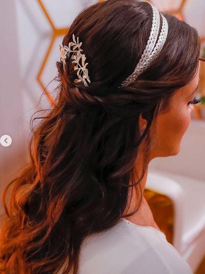 Fabrica de casamentos penteado carla