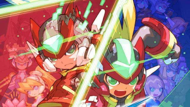 Mega Man Zero/ZX Legacy Collection (Switch) tem lançamento adiado para o dia 25 de fevereiro
